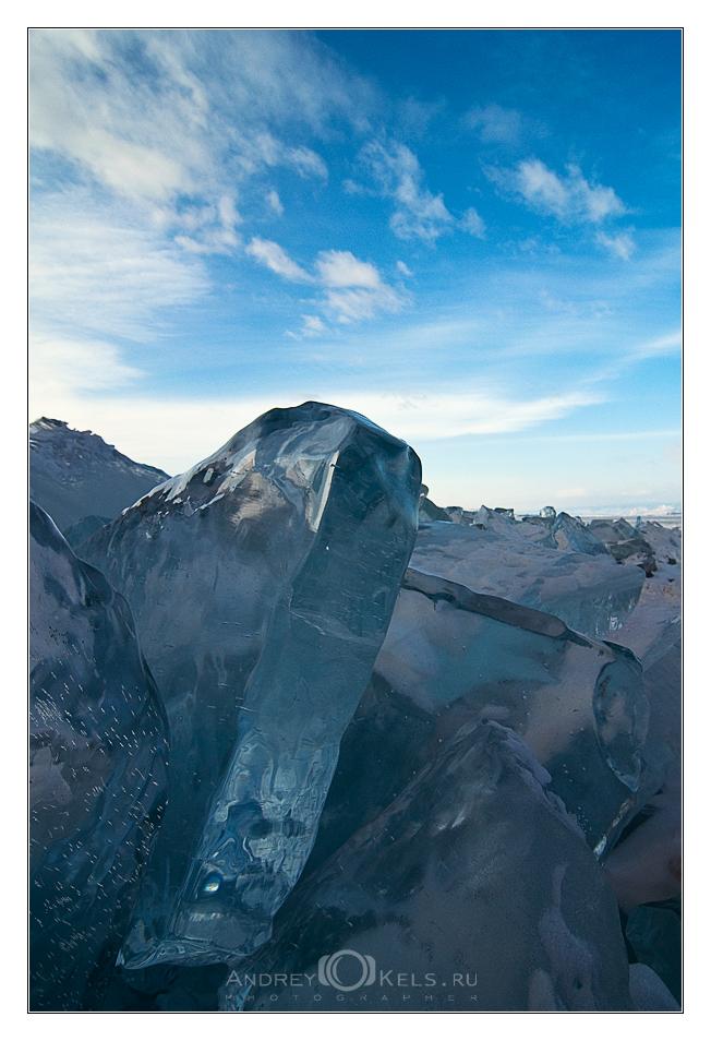Про Байкальский лед (фото на продажу)