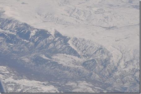 гора в снегу