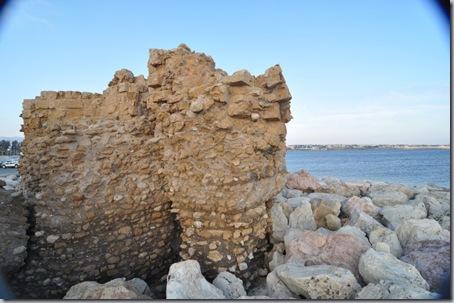 обломок крепости