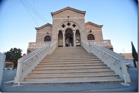 монастырь на берегу г. Пафос
